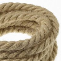 Jute Twisted 3 Core Electrical Cable